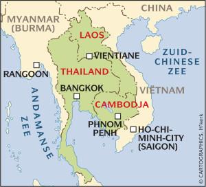 Thailand-Laos-Cambodja
